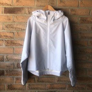 MPG | Grey spring rain jacket by Julianne …